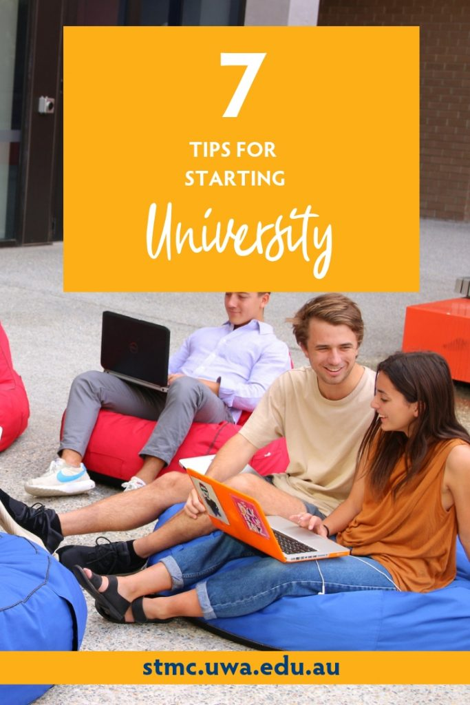 7 Tips for Starting University | Tips for First Year University Students | St Thomas More College