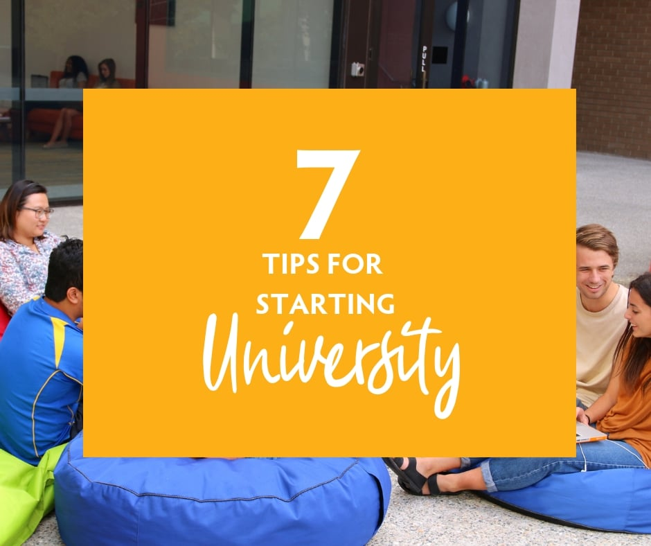 7 Tips for Starting University | Tips for first year university students