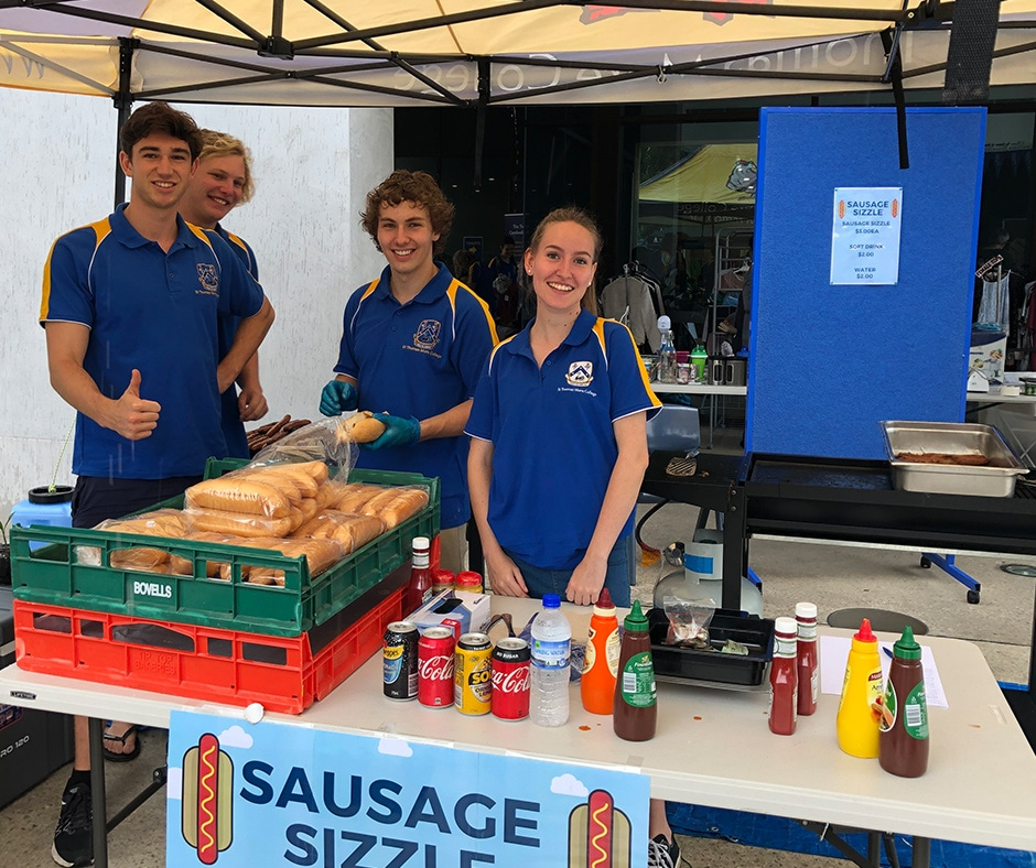 The BIG Tommy Garage Sale Sausage Sizzle