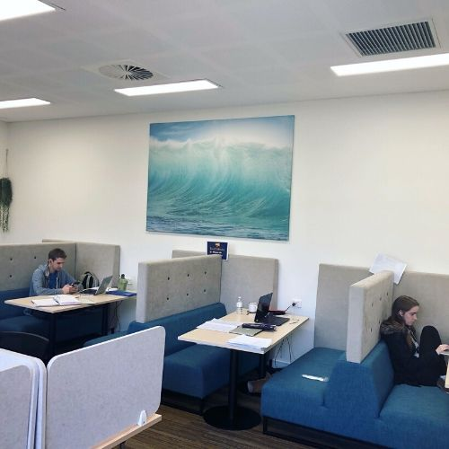 Study Lounge - St Thomas More College - Perth Student Accommodation